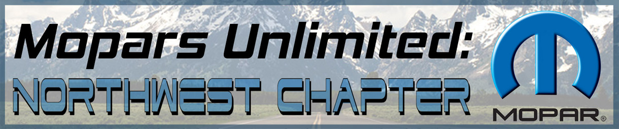 Mopars Unlimited: Northwest Chapter Logo